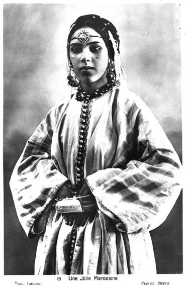 Caftan Marocain début de siècle